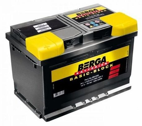 BERGA 68 R Basic Block  выс.  261*175*220
