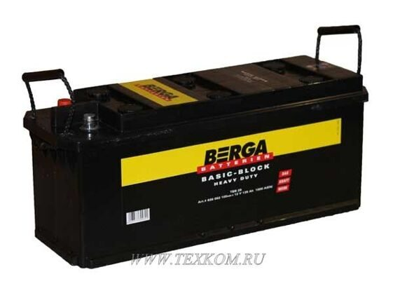 BERGA 225 R SHD Truck Power Block 518*276*242