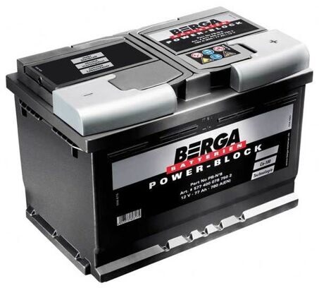 BERGA 77 R Power Block 278*175*190